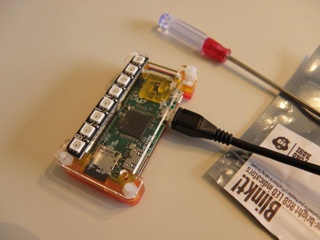Raspberry Pi Blinkt